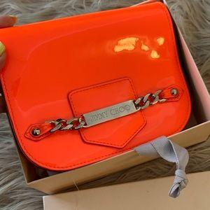 Jimmy Choo Neon Orange Crossbody